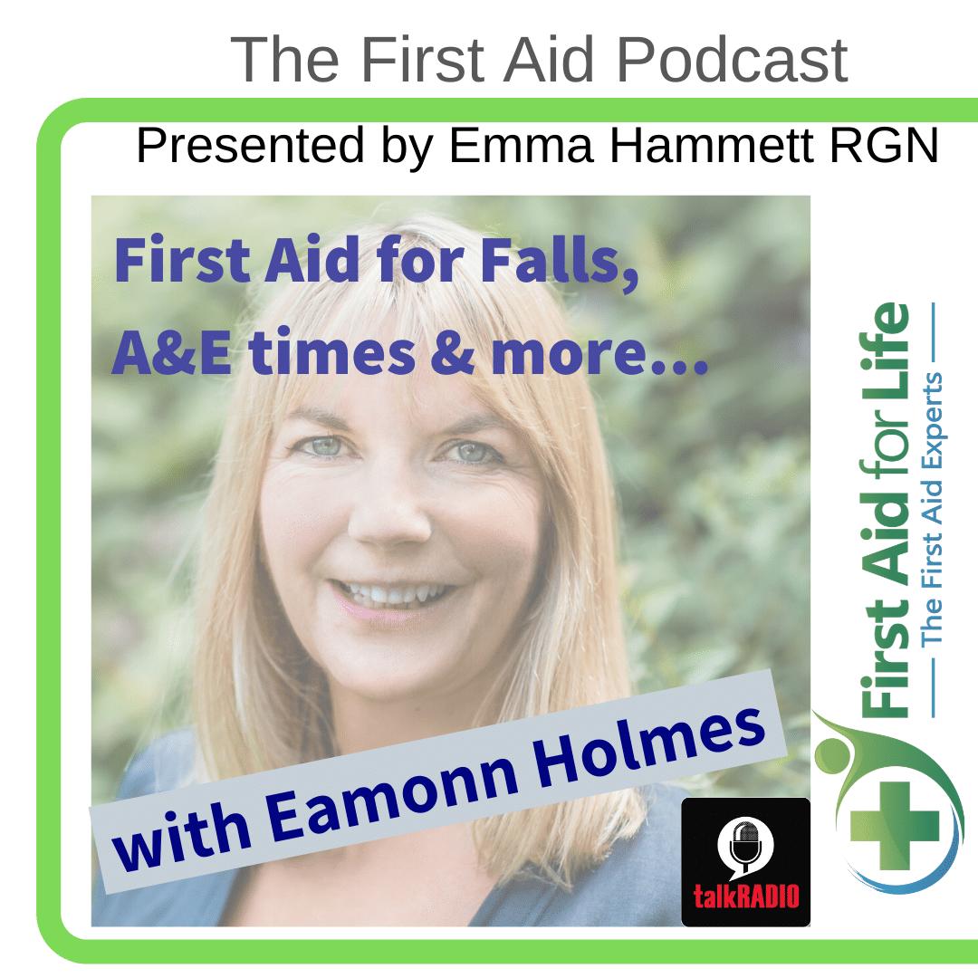 first aid for falls a&e times eamonn holmes
