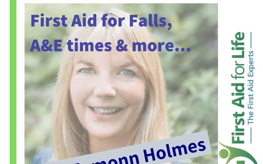 TalkRadio: Eamonn Holmes – First Aid for Falls, A&E times & more…