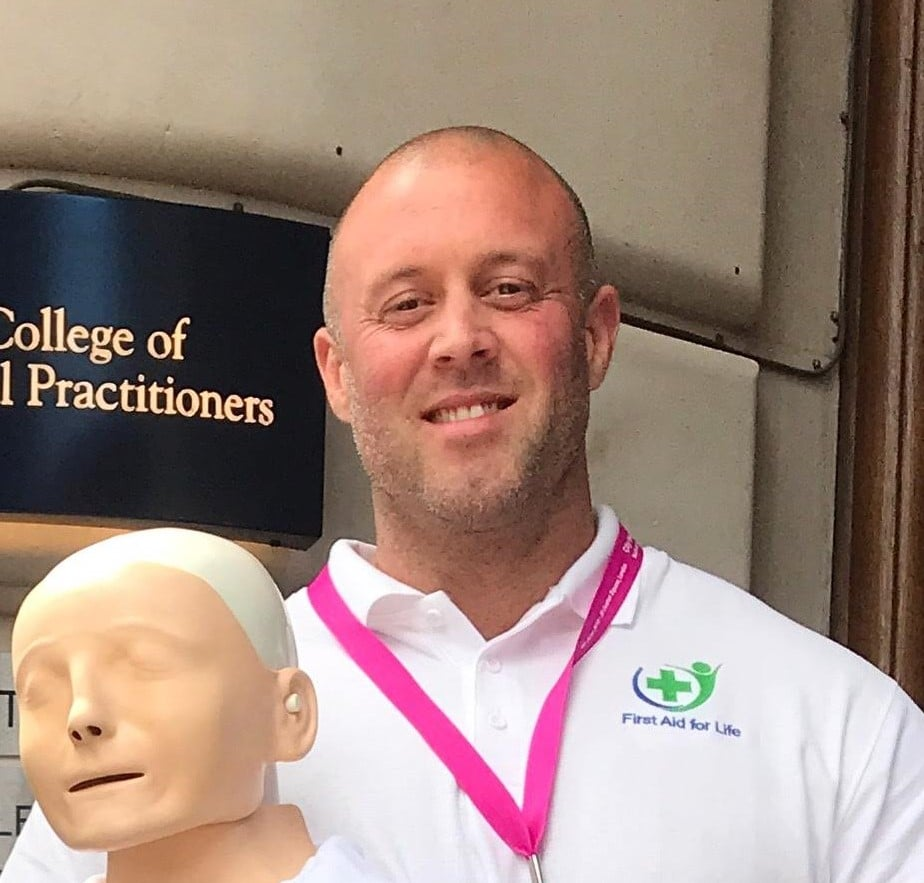 First Aid for Life Trainer Darren