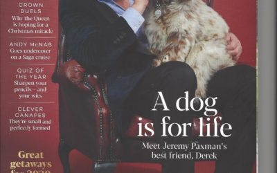 Saga Magazine – Jeremy Paxman and First Aid for Pets