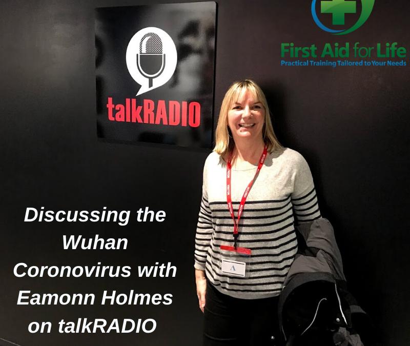 TalkRadio Eamonn Holmes – Wuhan Coronavirus
