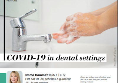 COVID-19 in dental settings – BDJ team