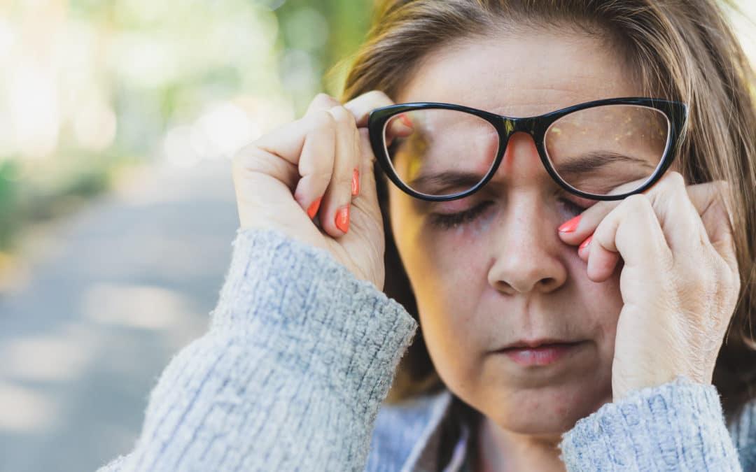How does Coronavirus enter through your eyes?
