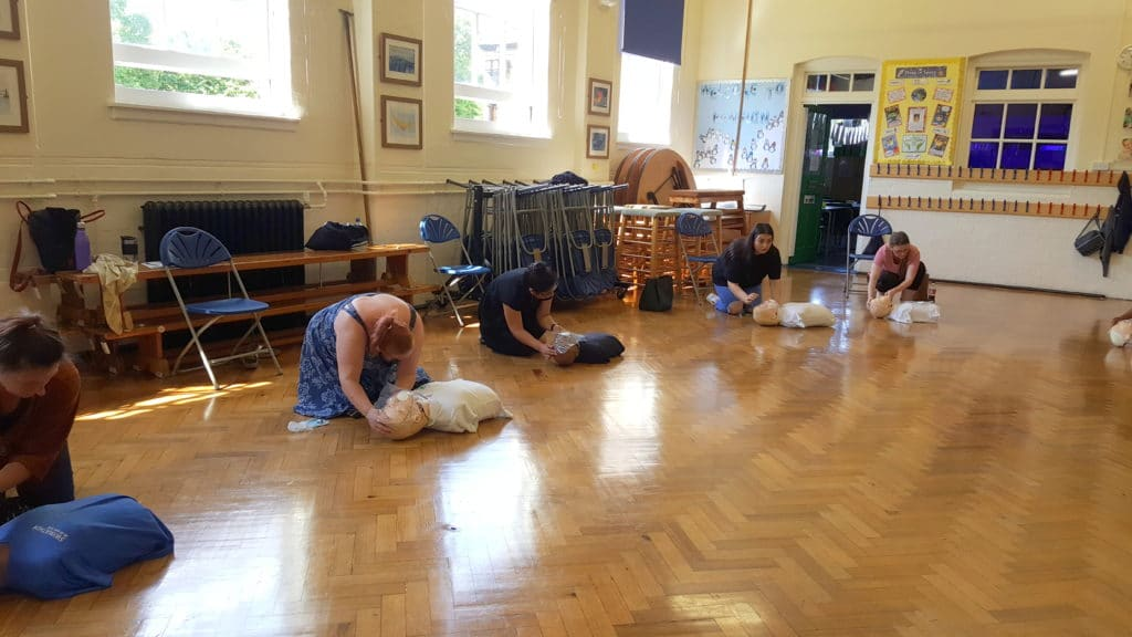 first aid and Covid19
