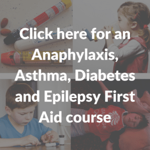 Anaphylaxis, asthma, diabetes and epilepsy first aid course