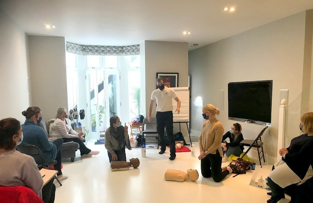 Covid-secure first aid training