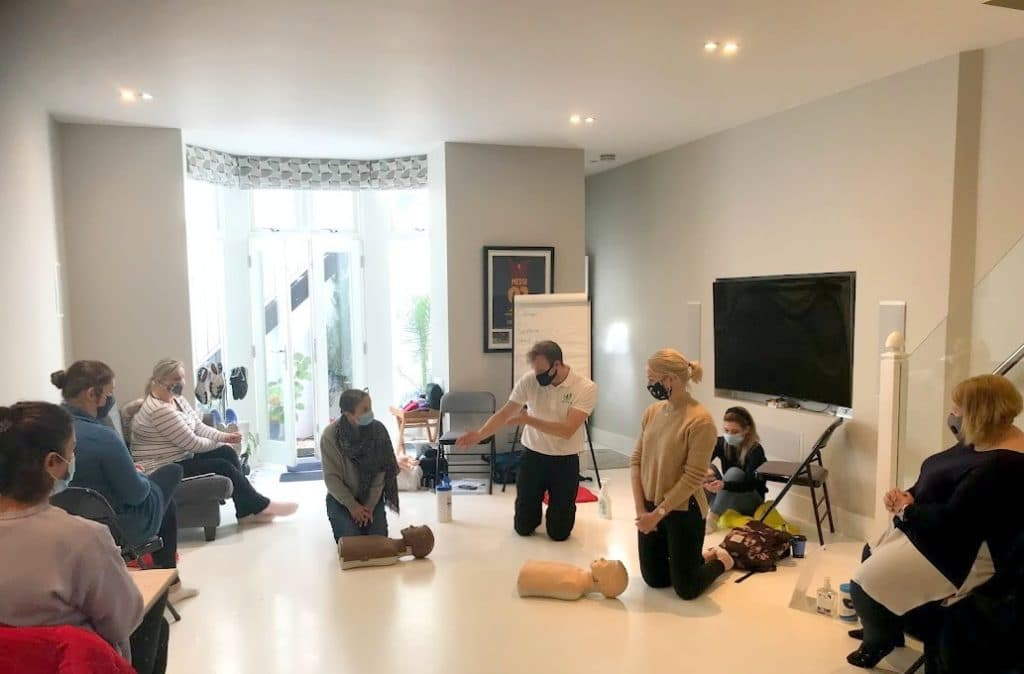 covid secure first aid course